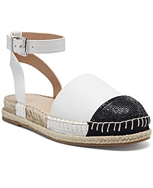 INC Kylan Ankle-Strap Flat Sandals, Created for Macy's