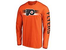 Philadelphia Flyers Men's Halftone Long Sleeve T-Shirt