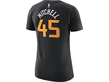 Utah Jazz Women's City Edition Player T-Shirt - Donovan Mitchell