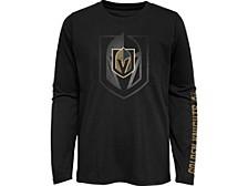 Kids Vegas Golden Knights Stop The Clock Long-Sleeve T-Shirt