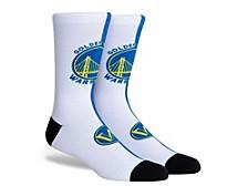 Parkway Golden State Warriors Split Jersey Crew Socks
