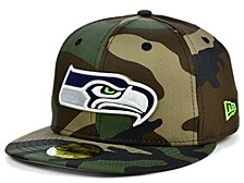 Seattle Seahawks Woodland 59FIFTY Cap