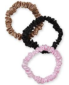 3-Pc. Skinny Satin Scrunchie Set, Created for Macy's