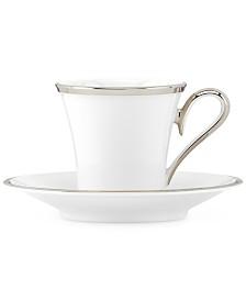 Lenox Solitaire Espresso Cup and Saucer Set