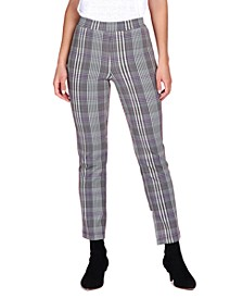 Carnaby Plaid Cropped Pants