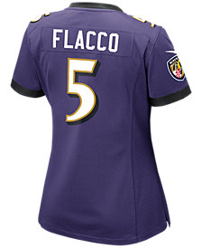 Nike Women's Joe Flacco Baltimore Ravens Game Jersey