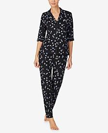 Floral Printed Pajama Set
