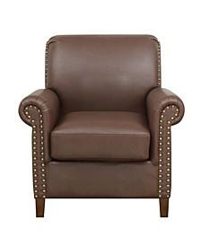 Nailhead Accent Arm Chair