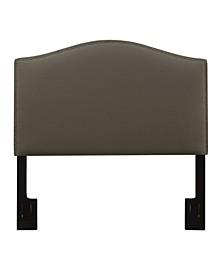 Camel Back Upholstered Headboard, Full or Queen