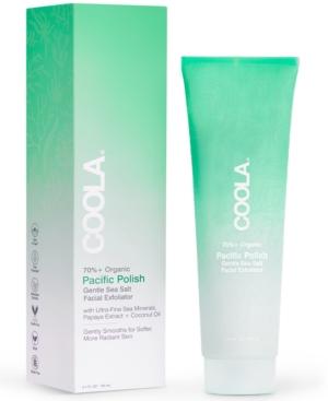 Pacific Polish Gentle Sea Salt Organic Facial Exfoliator