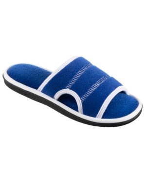 Isotoner Signature ISOTONER WOMEN'S MICROTERRY VENTED SLIDE SLIPPERS