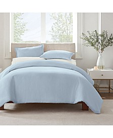 Simply Clean Microbe Resistant Twin and Twin Extra Long Duvet Set, 2 Piece