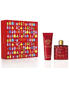 Men's 2-Pc. Eros Flame Eau de Parfum Gift Set