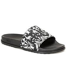 Men's Printed Slide Sandals