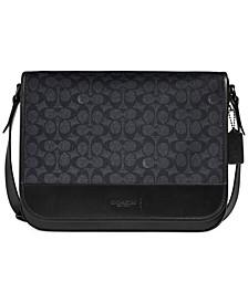 Men's Signature Gotham Messenger Bag