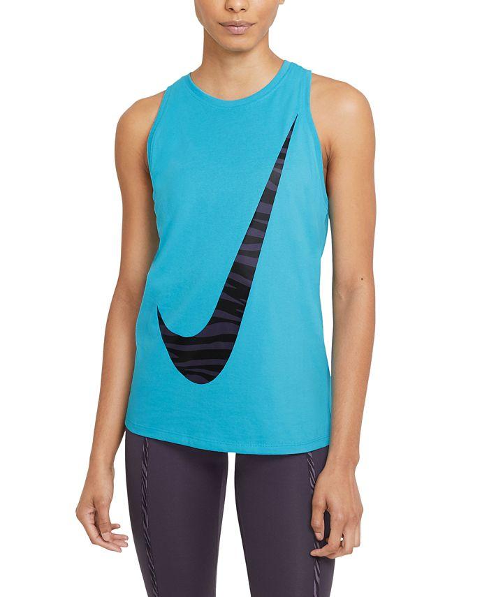 Nike - Plus Size Training Dri-FIT Icon Tank-Top