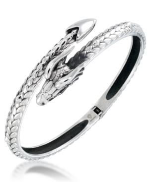 Men's Dragon Bangle Bracelet in Stainless Steel