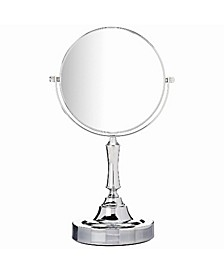"""6"""" Tabletop Vanity Mirror Two-Sided Swivel with 10X Magnifying"""