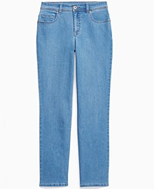 High-Rise Straight-Leg Jeans, Created for Macy's