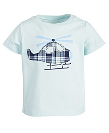 Baby Boys Helicopter Cotton T-Shirt, Created for Macy's