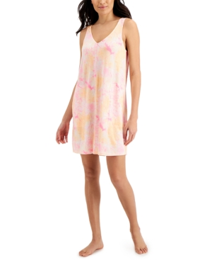 Printed Tank Chemise Nightgown