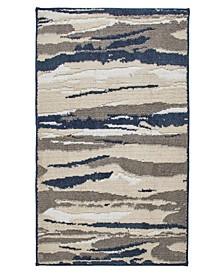 """Textured Strokes 27"""" x 45"""" Tufted Scatter Rug"""