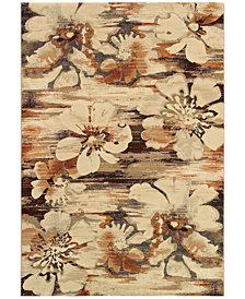 """Couristan Taylor Mosaic Florals 5'3"""" x 7'6"""""""