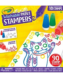 Washable Paint Stampers, Kids Paint Set, Gift for Boys & Girls, Ages 6, 7, 8, 9