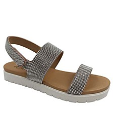 Sallee Sporty Flat Sandals, Created for Macy's