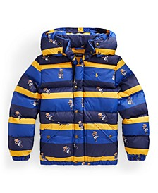 Big Boys Water-Resistant Down Coat