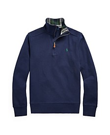 Big Boys Quarter-Zip Pullover