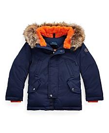 Toddler Boys Down Parka Coat