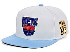 New Jersey Nets Patch N Go Snapback Cap