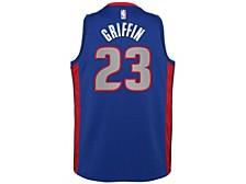 Detroit Pistons Youth City Edition Swingman Jersey - Blake Griffin