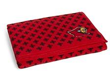 Louisville Cardinals Throw Blanket