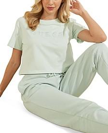 Crop Basic Logo T-Shirt