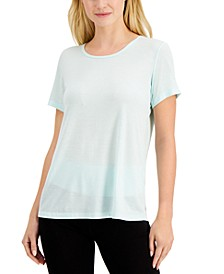 Mesh-Back T-Shirt, Created for Macy's