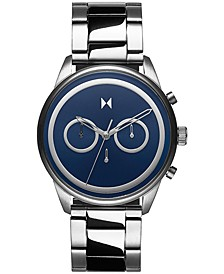 Men's Chronograph Powerlane Stainless Steel Bracelet Watch 43mm