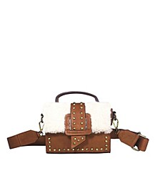 Women's Mitch Shearling Box Bag