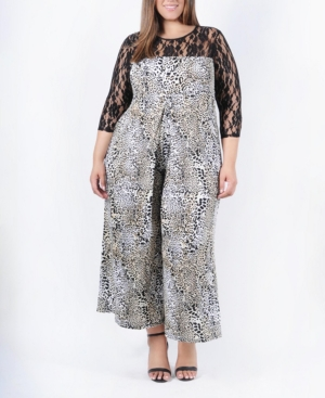 Lana Plus Size Women's Jumpsuit