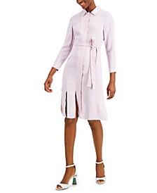 Petite Carwash-Hem Shirtdress, Created for Macy's