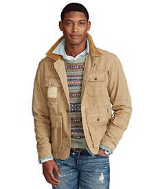 Men's Shearling-Patch Wading Jacket