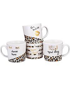 11 oz Love Inspirational Coffee/Tea Mug, Set of 4