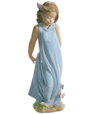 Lladro Collectible Figurine Friend of the Butterflies