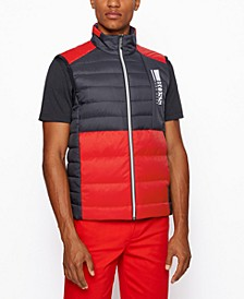 BOSS Men's V_Basalt Regular-Fit Gilet