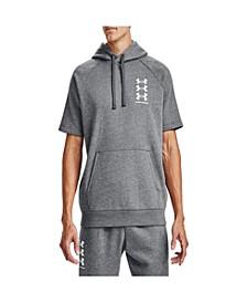 Men's Rival Fleece Multilogo Short Sleeve Hoodie