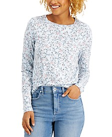 Printed Long-Sleeve T-Shirt, Created for Macy's