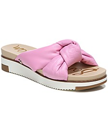 Women's Agatha Puffy Knot Sport Slides