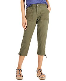 Tie-Hem Capri Pants, Created for Macy's