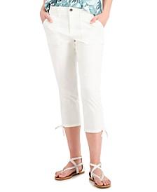 Petite Utility Capri Pants, Created for Macy's